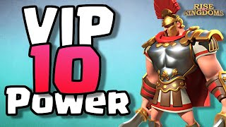 VIP 10 is the KEY to City Upgrades | Rise of Kingdoms