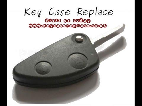 Alfa 2 Button Remote Key Shell