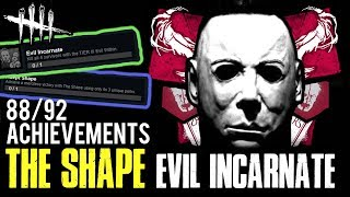 EVIL INCARNATE [#113] Shape Achievements - Dead by Daylight with HybridPanda