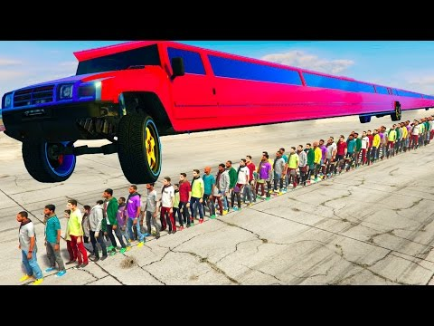 THE LONGEST CAR IN GTA 5!!! (GTA 5)