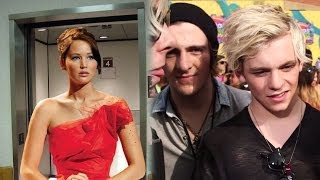 Celebrities Stuck in an Elevator- Kids Choice Awards 2014