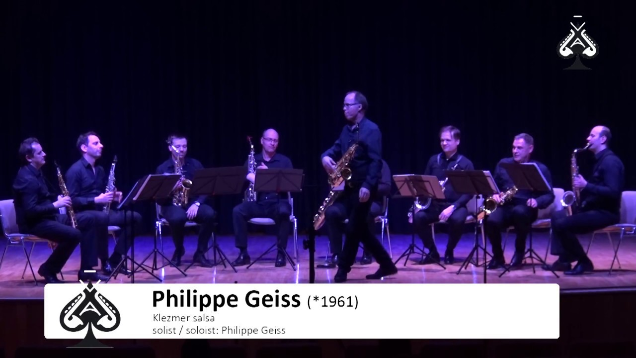 Adolphesax.com -AS Festival -Klezmer SALSA by Philippe GEISS Soloist-Philippe Geiss