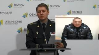 Oleksander Motuzyanyk. Ukraine Crisis Media Center, 17th of January 2016