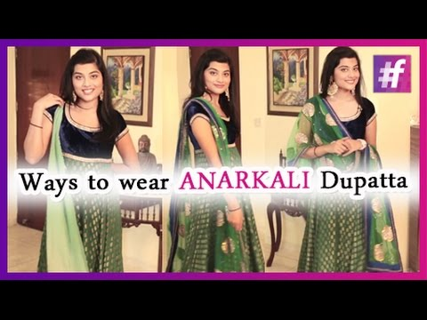 Best 10 Ways To Wear Dupatta - Dressing Tutorial   By Mehak