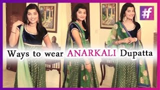 Best 10 Ways To Wear Dupatta - Dressing Tutorial | By Mehak