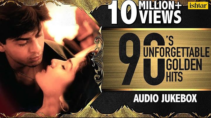 90s unforgettable golden hits  evergreen romantic songs collection  jukebox  hindi love songs