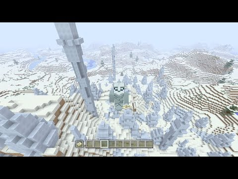 Minecraft Xbox One / PS4 Seed: 100% Snow Biome Seed!