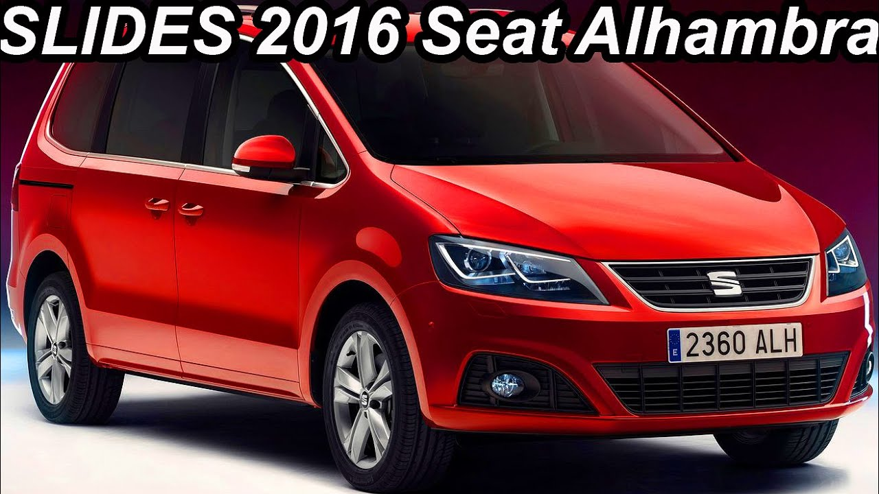 slides seat alhambra 2016 youtube. Black Bedroom Furniture Sets. Home Design Ideas