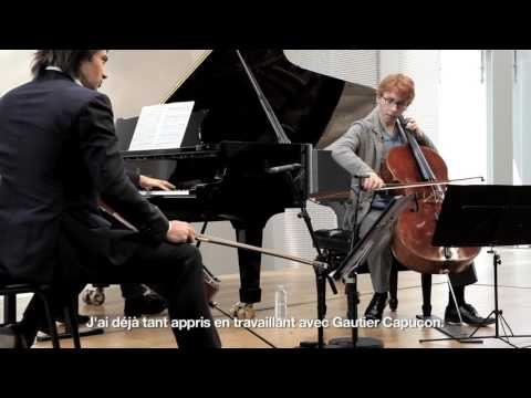 Presentation of Gautier Capuçon's Cello Masterclasses