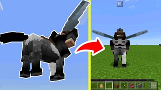 The BEST GLITCH in Minecraft Pocket Edition of 2017!! (Elytra Wing Glitch)