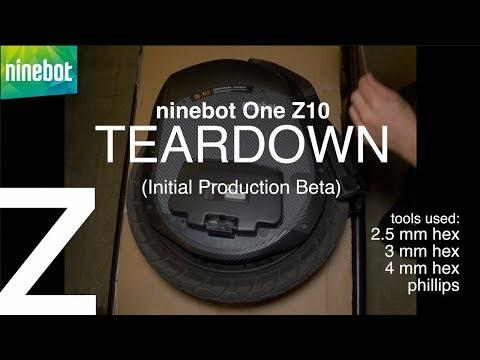 NINEBOT ONE Z: TEARDOWN