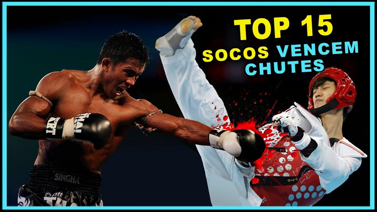 SOCO VS CHUTE - VÁRIOS CONTRA-ATAQUES  #TOP15