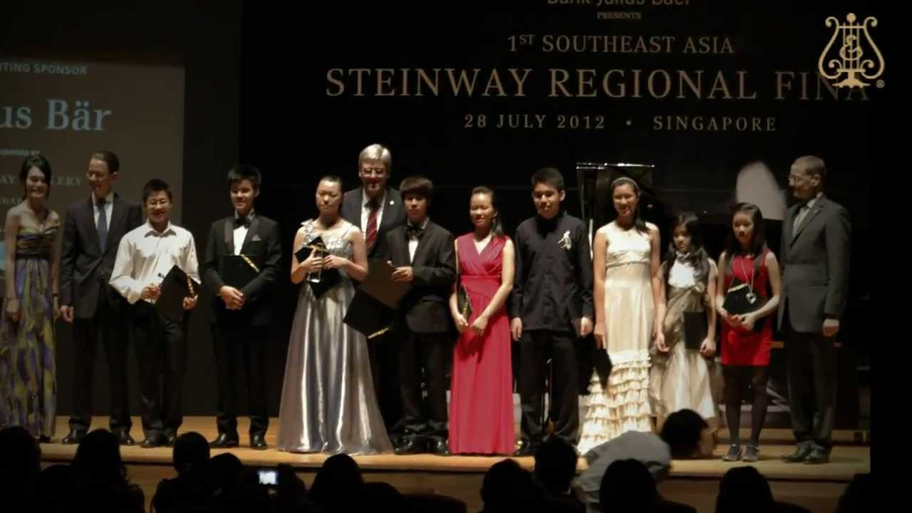 2nd Philippines Steinway Youth Piano Competition 2014