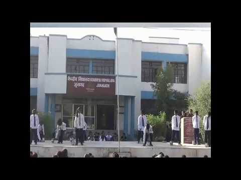 Comedy Funny Dance By Students of KV Junagadh.