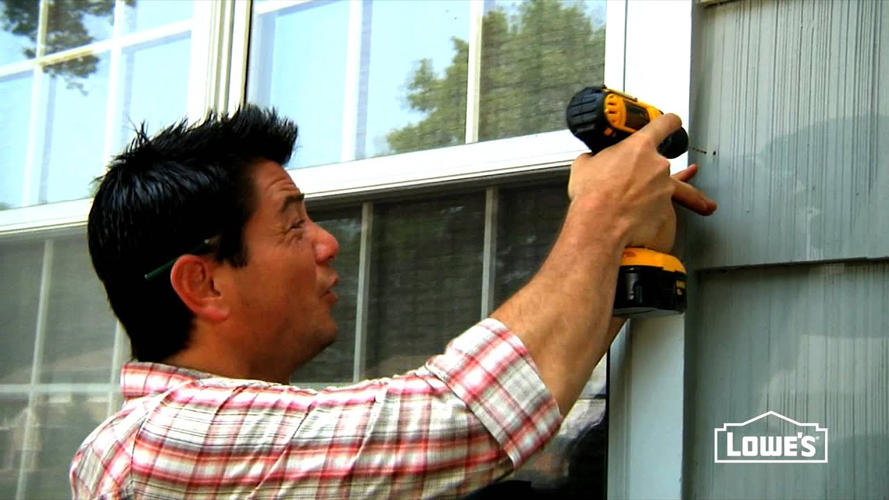 How to Install Exterior Shutters - YouTube