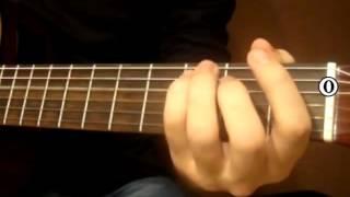 Видеоурок Кельтская гитара   Кукушка часть 2,живая музыка