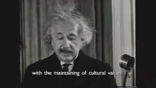 Real Speech Of Albert Einstein|Voice Of Albert Einstein|Einstein Was Speaking