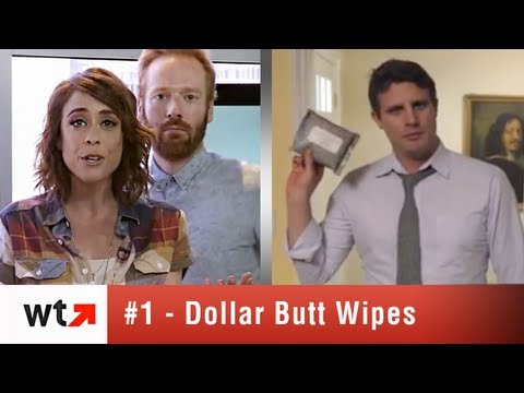 Dollar Shave Club's New Butt Wipes Plus Top 5 Videos For 6/5/13