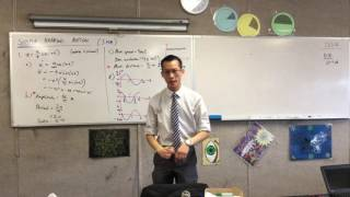 Simple Harmonic Motion Question (3 of 3: Other Characteristics)