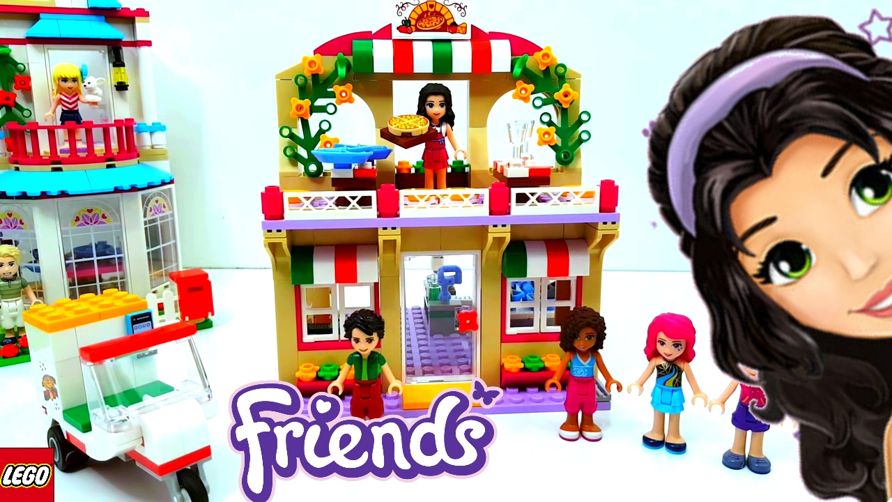 Lego Friends Heartlake Pizzeria 2017 Building Review 41311 Youtube