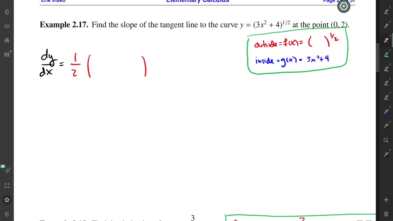 Elementary vector analysis hmc calculus tutorial.