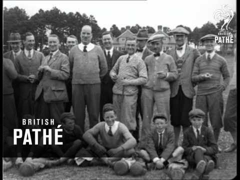 Cinema Golf Match (1926)