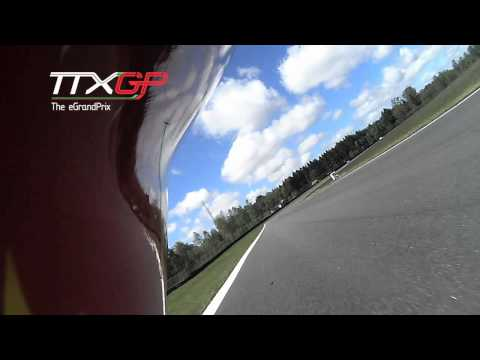 Electric Motorcycle Crash TTXGP European Championship 2012