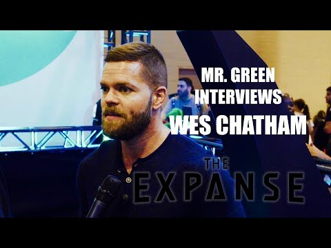 Mr  Green s the Cast of The Expanse: Wes Chatham