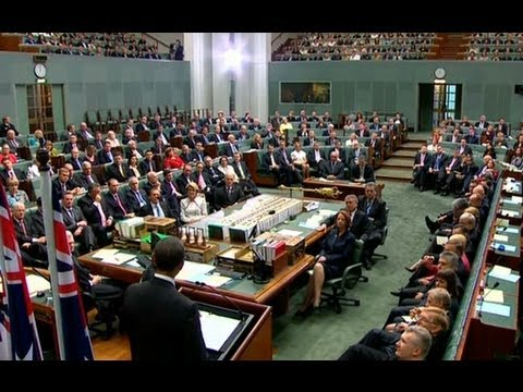 President Obama Speaks to the Australian Parliament