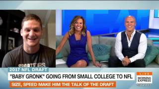 NFL Draft prospect Adam Shaheen joins HLN's Morning Express on Draft Day