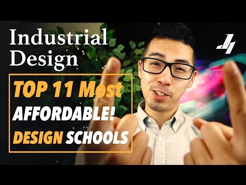 Top 11 Most Affordable Industrial Design Schools!