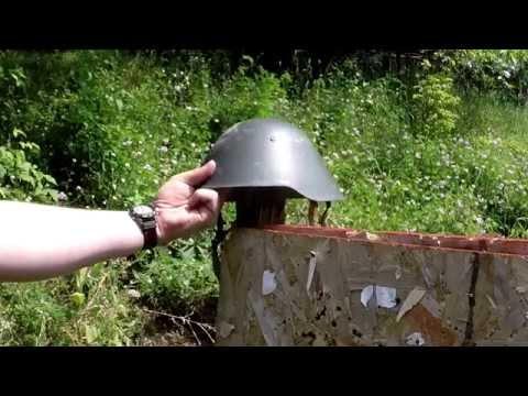 Ballistic Test: East German M56/76 Helmet
