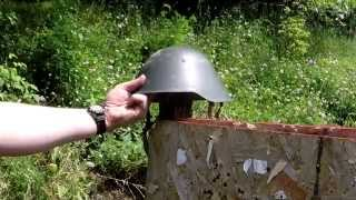 Ballistic Test: East German M56/76 Helmet