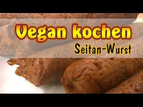 rezept seitan wurst vegane bratwurst selber machen vegan kochen youtube. Black Bedroom Furniture Sets. Home Design Ideas