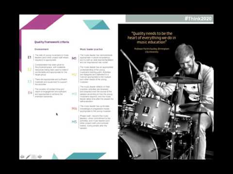 Webinar recording: The Youth Music Quality Framework and Disabled Young People