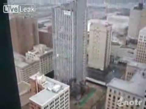 Demolition of Skyscraper