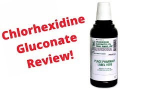 Chlorhexidine Gluconate (Peridex) Oral Rinse Mouthwash Review! Prevents Dry Socket & Infections
