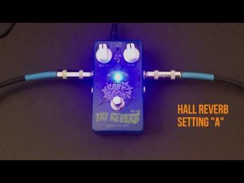 Biyang Tri Reverb RV-10 Pedal Review Demo