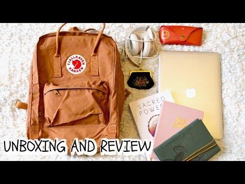 What's In My Backpack || Fjallraven Kanken
