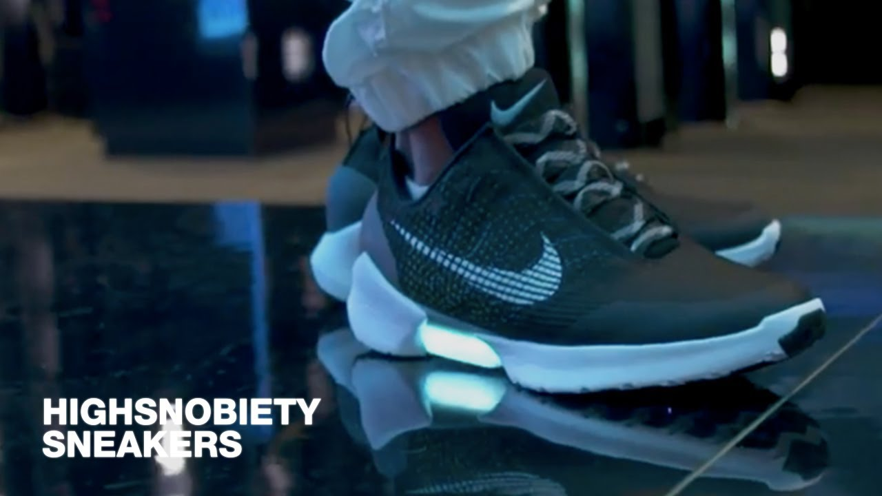 Tinker Hatfield Discusses Nike HyperAdapt 1.0, Virgil Abloh, Artificial  Intelligence and More