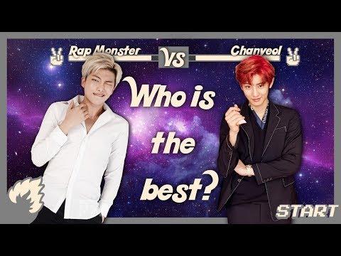 Rap Monster (BTS) vs Chanyeol (EXO)  - RAP BATTLE 2017