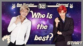 Video Rap Monster (BTS) vs Chanyeol (EXO)  - RAP BATTLE 2017 download MP3, 3GP, MP4, WEBM, AVI, FLV Juli 2018