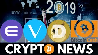 Bitcoin Recovery in 2019, Big Enjin Coin Update, BCH Delisting, VeChain, Dogecoin - Crypto News