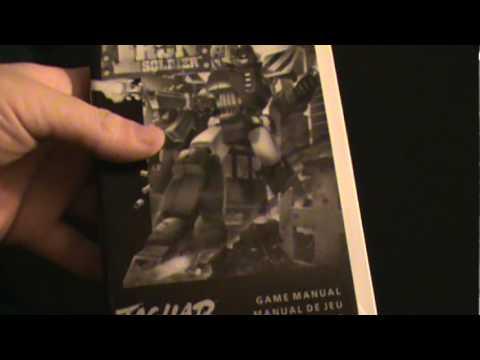 Iron Soldier Atari Jaguar Game Unboxing