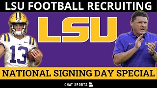 LSU Football's #4-Ranked 2021 Recruiting Class: National Signing Day Analysis, News & Rumors