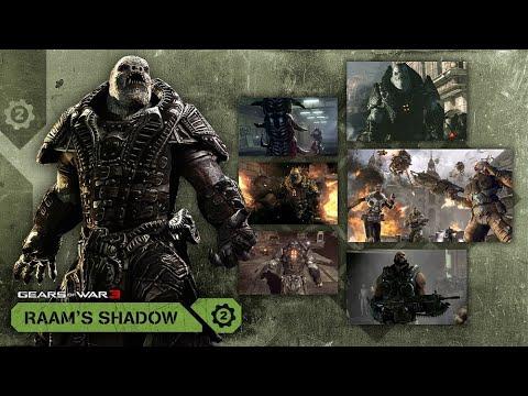 Gears Of war 3 -  La Sombra De Raam Cinematicas Español Latino HD