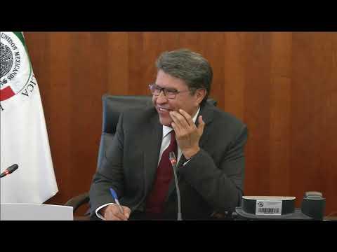 Conferencia del senador Ricardo Monreal, presidente de la Junta de Coordinación Política