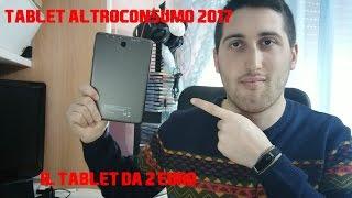 |Recensione| Tablet Altroconsumo 2017 - Il tablet da 2 euro