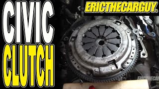 01-05 Honda Civic Clutch Replacement