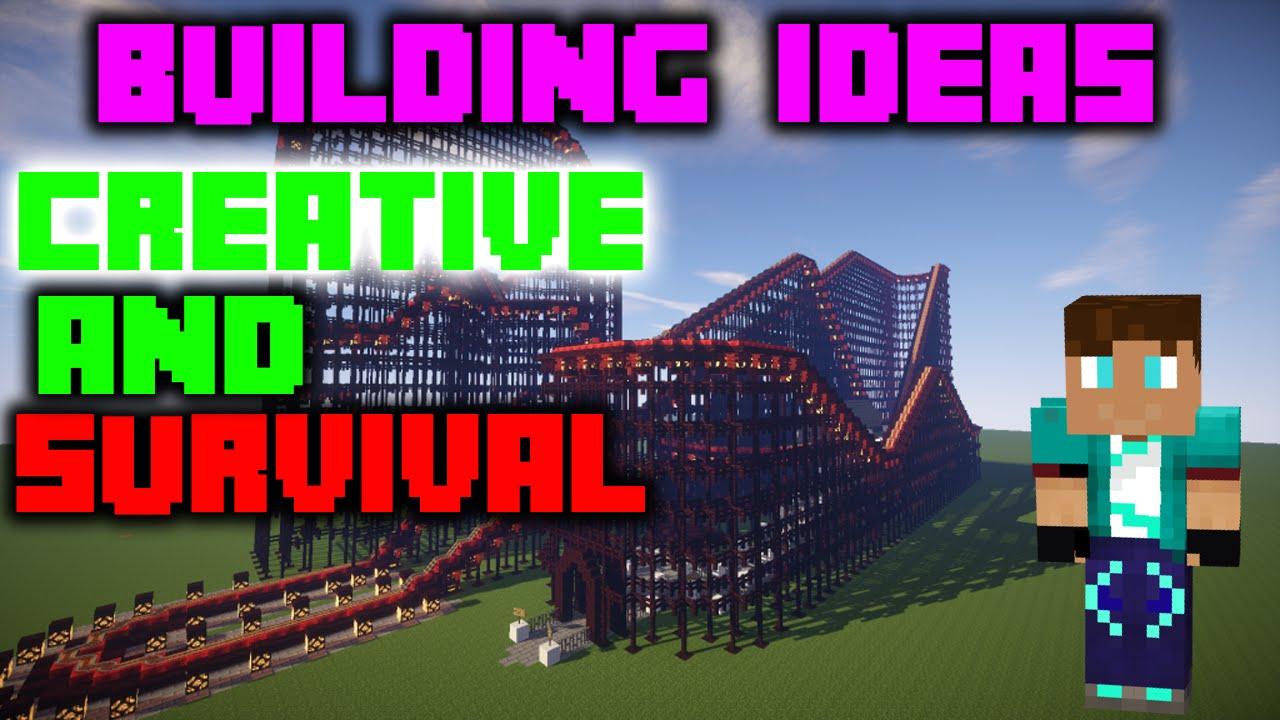 minecraft town building ideas